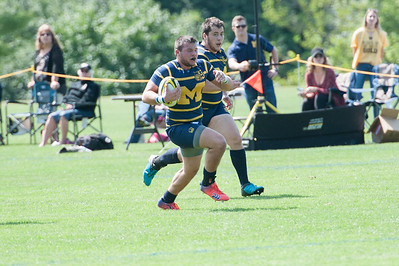 2017 Michigan Rugby vs  Western 45