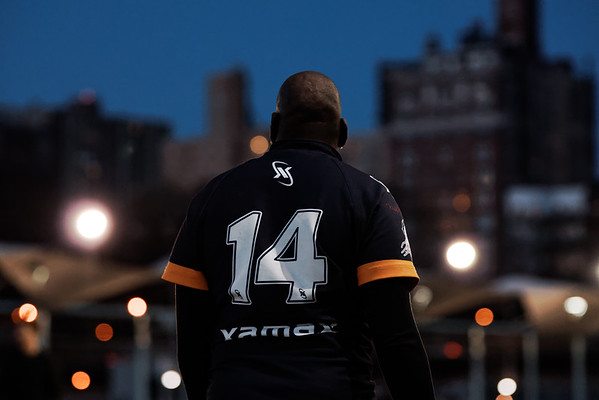Brooklyn Kings Rugby League Spring 2015 Training. Photo: Davey Wilson - www.davyewilson.com