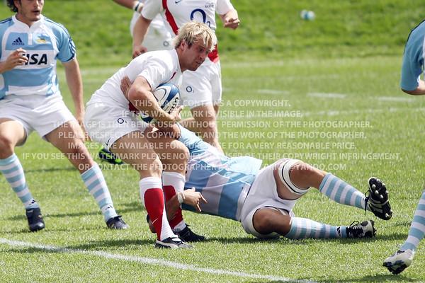 2009 Churchill Cup England Saxons vs. Argentina