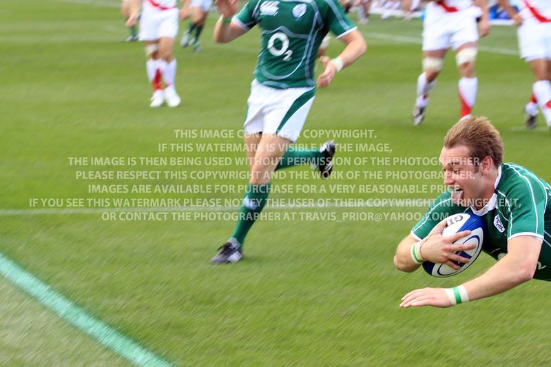 2009 Churchill Cup Ireland vs. England Saxons