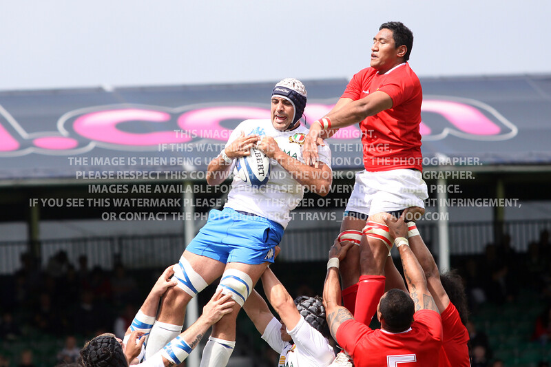 2011 Churchill Cup Rugby Italy A vs. Tonga
