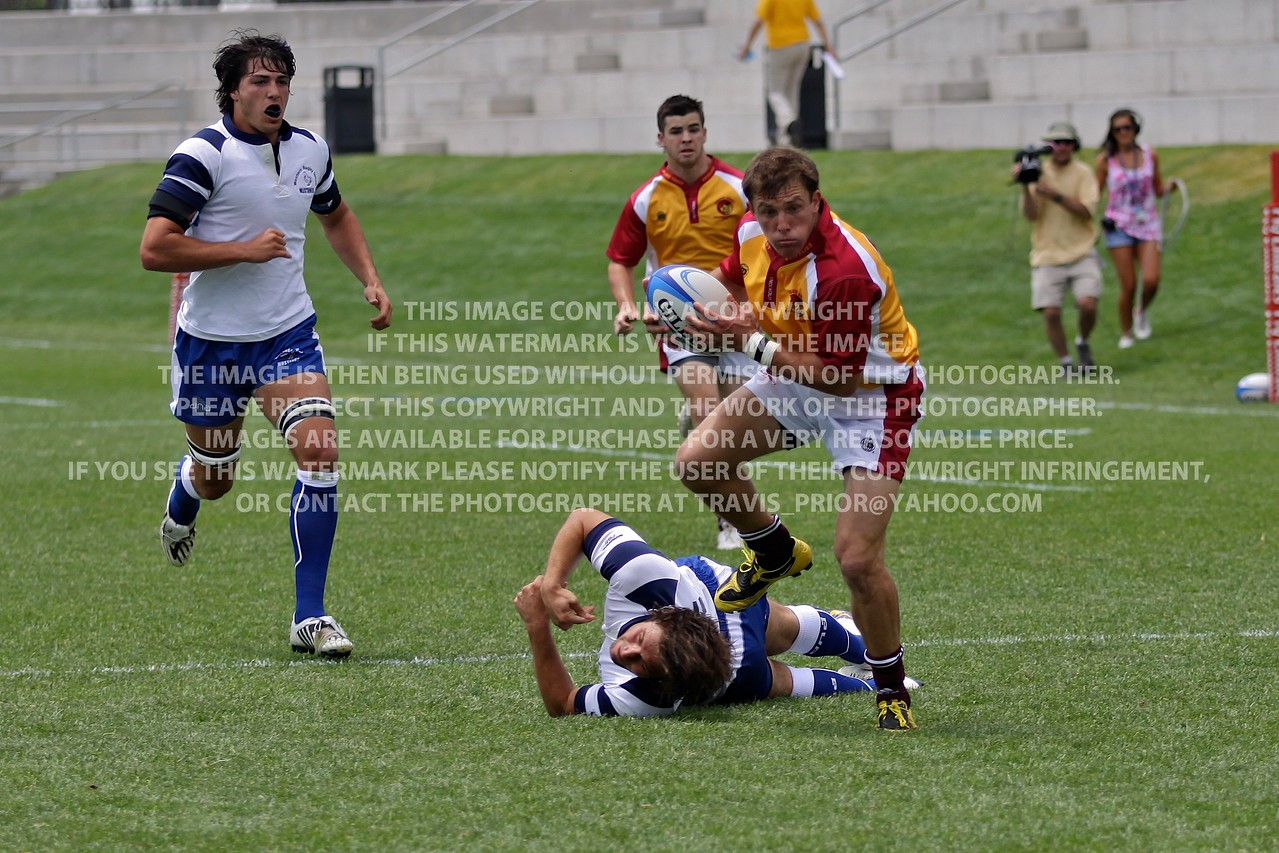 Collegiate Championships 2010 Pacific Coast vs. Western Rugby Union
