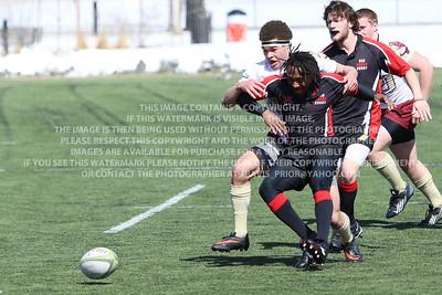 RRDU0146 Denver University Rugby vs Red Rocks Community College Saturday March 8, 2014