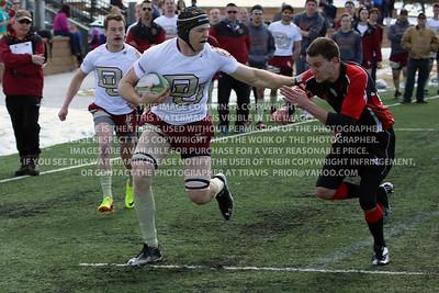 RRDU0383 Denver University Rugby vs Red Rocks Community College Saturday March 8, 2014