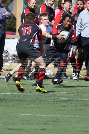 RRDU0261 Denver University Rugby vs Red Rocks Community College Saturday March 8, 2014
