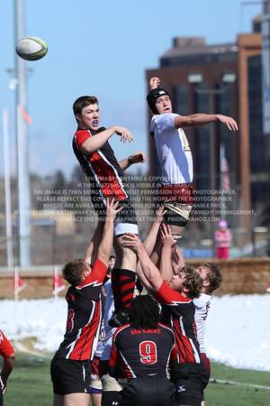 RRDU0142 Denver University Rugby vs Red Rocks Community College Saturday March 8, 2014