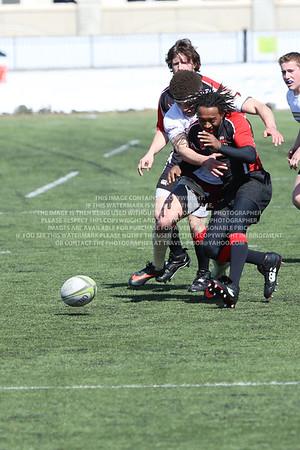 RRDU0145 Denver University Rugby vs Red Rocks Community College Saturday March 8, 2014