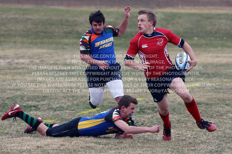 Littleton Eagles Rugby at Brandywine Park March 15, 2014