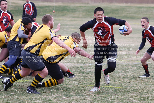 Northside Dragons Rugby at Brandywine Park March 15, 2014