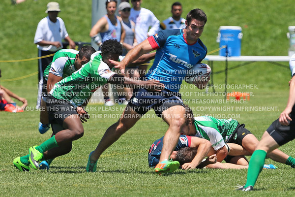 Glendale Raptors Men's Rugby 2015 Denver Seven's Rugby Tournament