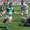 "Up & Under, Irish ""A"" vs England Saxons, 2009 Churchill Cup."