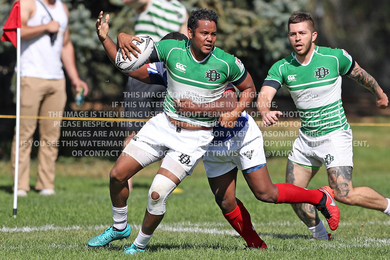 October 1, 2016 Denver Barbarians D2 vs Glendale Raptors D2