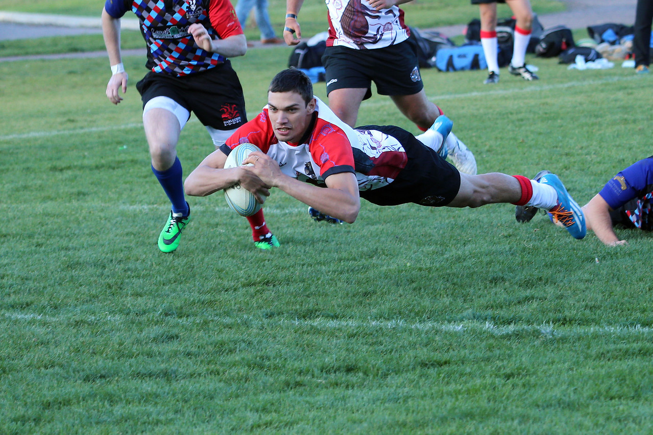 Denver Harlequins vs Queensland Outback Barbarians Tuesday May 13, 2014