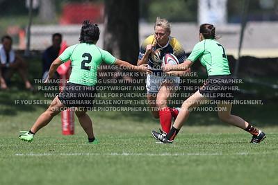 2017 Club 7's Glendale Merlins Rugby Women