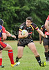 Easterhouse Panthers v Fife Lions. A Scottish Premier Division match played at Cardonald on 2 July 2011.
