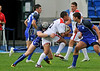 Scotland under 18s v England Colleges at Scotstoun Stadium on 13th August 2011.