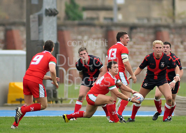 Rugby League Students 4 Nations Tournament 2011, played at Scotstoun Stadium, Glasgow.<br /> England v Wales
