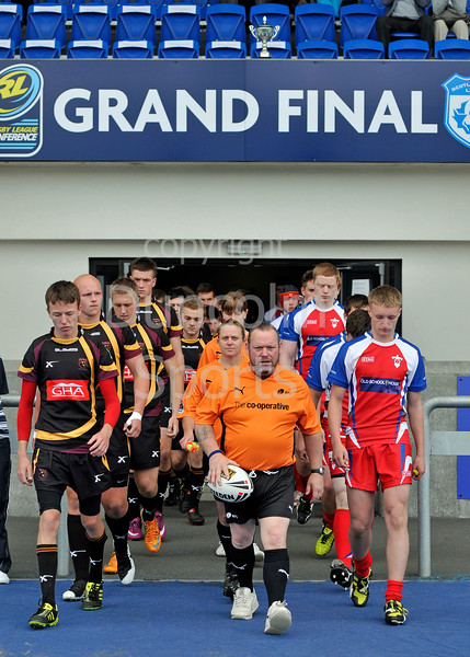 Easterhouse Panthers v Aberdeen Spartans, the under 17s Final held by Scottish Rugby League at Scotstoun Stadium on 6 August 2011.