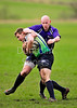 Cumbernauld College v Telford College, an East v West game played at Cumbernauld RFC on 29 February 2012.