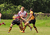 Easterhouse Panthers v Aberdeen Warriors<br /> A Scottish Conference League game played at Nethercraigs Sports Complex on 14 July 2012.