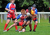 Rugby League - under 15 Scottish Grand Final.<br /> Easterhouse Panthers v Aberdeen Spartans. Match played at Falkirk RFC on 4 August 2012.