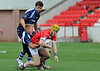27 June 2014. The Rugby League Commonwealth Championship Tournament at Broadwood Stadium, Cumbernauld. Scotland v Wales