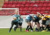 The Saltire Schools Cup Finals 2013. Broadwood Stadium, 20 June 2013.<br /> S1 Final - Westhill Academy v Greenwood Academy