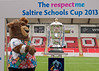 The Saltire Schools Cup Finals 2013. Broadwood Stadium, 20 June 2013