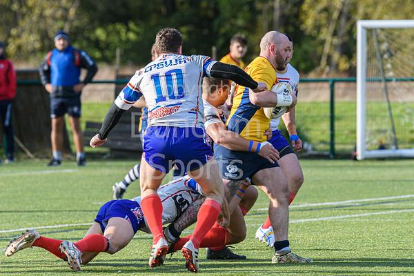 26 October 2019 atLochinch, Glasgow. Rugby League World Cup 2021 qualifying play-off match - Scotland v Serbia