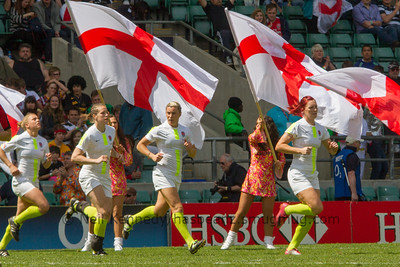 RUGBY LADIES 2012 London 7s SemiFinals