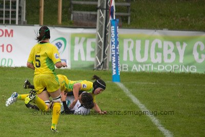 IRB WSWS Amsterdam 7s Day 1 at National Rugby Centre, Amsterdam, Netherlands on 13th May 2013 Game 13: Australia v USA