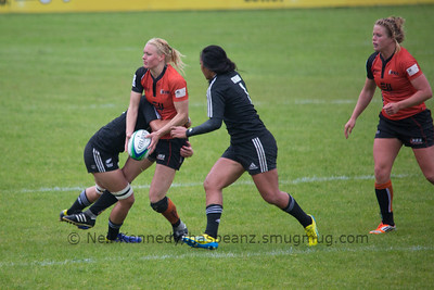 IRB WSWS Amsterdam 7s Day 1 at National Rugby Centre, Amsterdam, Netherlands on 13th May 2013 Game 17:  Netherlands v New Zealand