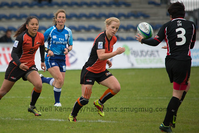 IRB WSWS Amsterdam 7s Day 1 at National Rugby Centre, Amsterdam, Netherlands on 13th May 2013 Game 6:  China v Netherlands