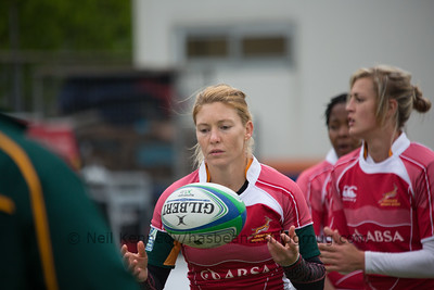 South Africa warm up
