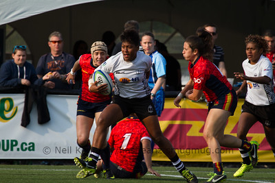 Game 15 Match Day 1 Pool A 18/04/15 17:44 Fiji v Spain WSWS Round 4 Langford BC  Canada