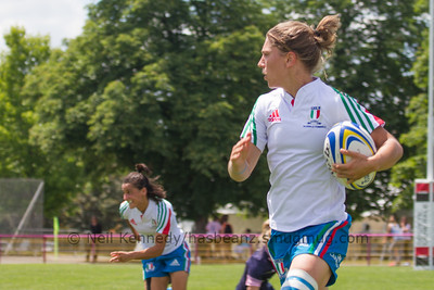 Game 29 Womens Euro Grand Prix 7s - Brive/Malemort 11th Place 21/6/15 14:40 Italy v Scotland