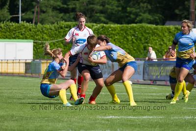 Game 19 Womens Euro Grand Prix 7s - Brive/Malemort QF Cup 1st v 8th 21/6/15 10:00 Russia v Ukraine