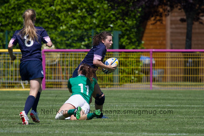 Game 06 Womens Euro Grand Prix 7s - Brive/Malemort Pool C 20/6/15 11:50 Ireland v Scotland