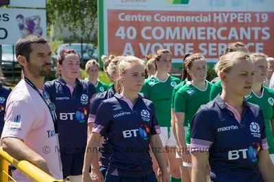 Game 06 Womens Euro Grand Prix 7s - Brive/Malemort Pool C 20/6/15 11:50 Ireland v Scotland