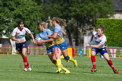 Game 19 Womens Euro Grand Prix 7s - Brive/Malemort QF Cup 1st v 8th 21/6/15 10:00 Russia v Ukraine
