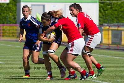 Game 02 Womens Euro Grand Prix 7s - Brive/Malemort Pool B 20/6/15 10:22 France v Portugal