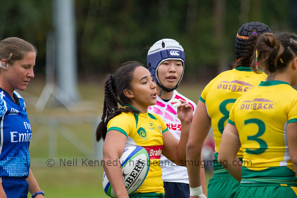 Game 03 WSWS 2016 Qualification Tournament- UCD Bowl, Dublin Pool A 22/8/15 11:44 Brazil v Japan