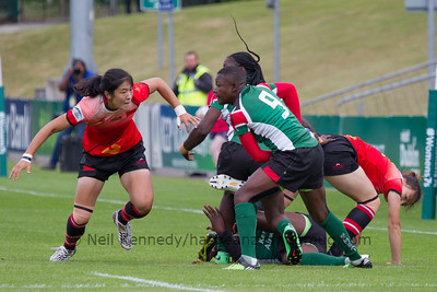 Game 01 WSWS 2016 Qualification Tournament- UCD Bowl, Dublin Pool B 22/8/15 11:00 China v Kenya