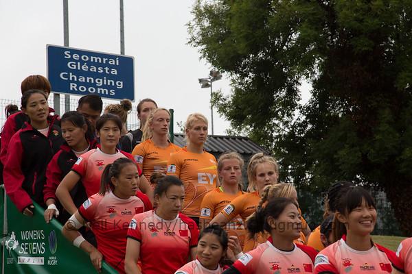 Game 14 WSWS 2016 Qualification Tournament- UCD Bowl, Dublin Pool B 22/8/15 17:00 China v Netherlands