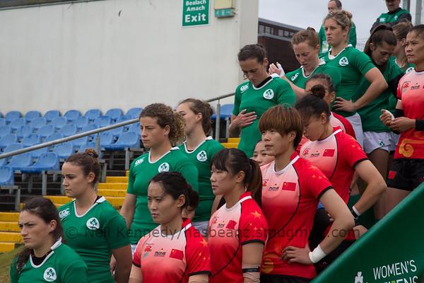 Game 20 WSWS 2016 Qualification Tournament- UCD Bowl, Dublin Cup QFinal 2 23/8/15 10:52 Ireland v China