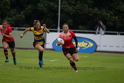 Game 08 WSWS 2016 Qualification Tournament- UCD Bowl, Dublin Pool B 22/8/15 14:16 China v Colombia