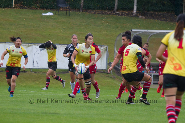 Game 31 WSWS 2016 Qualification Tournament- UCD Bowl, Dublin Cup 7th place playoff 23/8/15 Wales v China