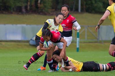 Game 25 WSWS 2016 Qualification Tournament- UCD Bowl, Dublin Cup Plate SemiFinal 1 23/8/15 Hong Kong v China