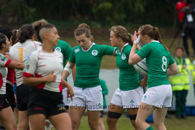 Game 06 WSWS 2016 Qualification Tournament- UCD Bowl, Dublin Pool C 22/8/15 12:50 Ireland v Mexico