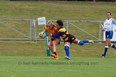 Game 02 WSWS 2016 Qualification Tournament- UCD Bowl, Dublin Pool B 22/8/15 11:22 Netherlands v Colombia